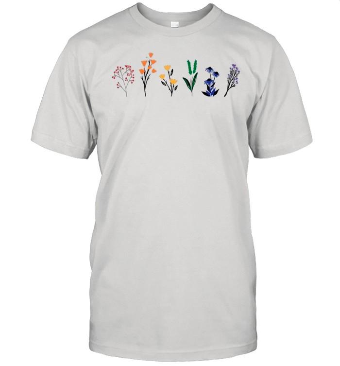 LGBTQ Wildflowers shirt Classic Men's T-shirt