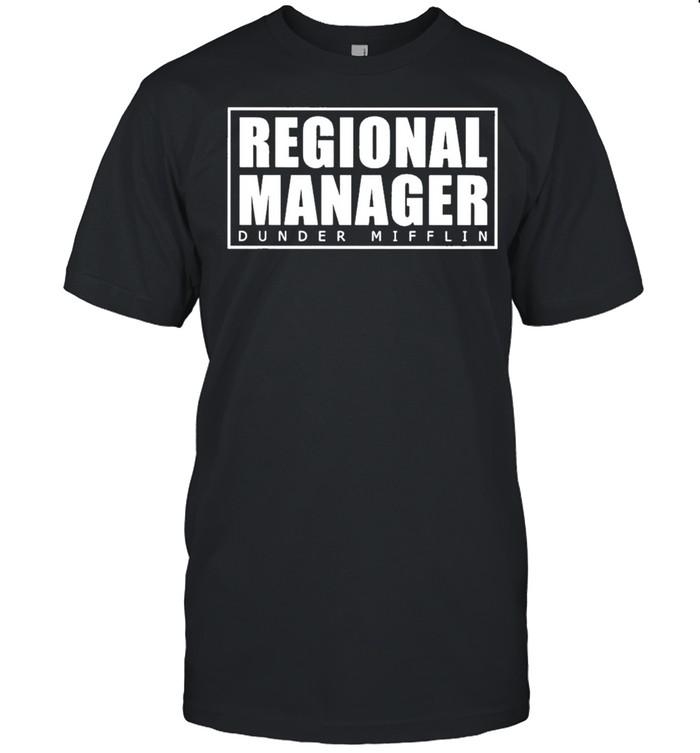 Regional Manager Dunder Mifflin Classic shirt Classic Men's T-shirt
