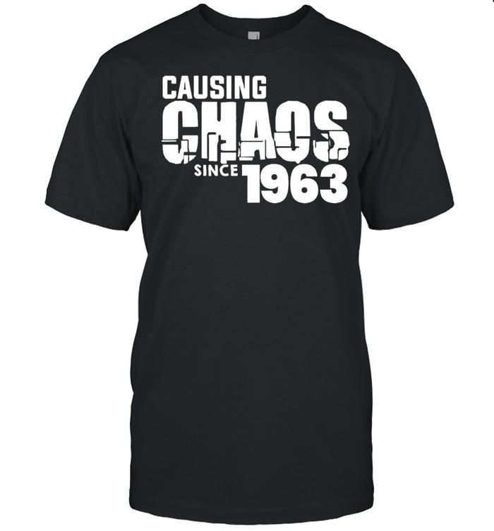 Ladies causing chaos since 1963 shirt Classic Men's T-shirt