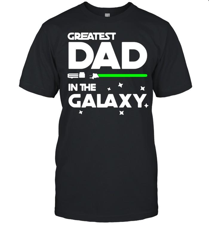 Star War Greatest Dad In The Galaxy  Classic Men's T-shirt