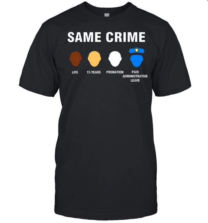 same crime shirt Classic Men's T-shirt