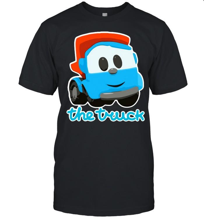 The Inquisitive Dump Truck Leo  Classic Men's T-shirt