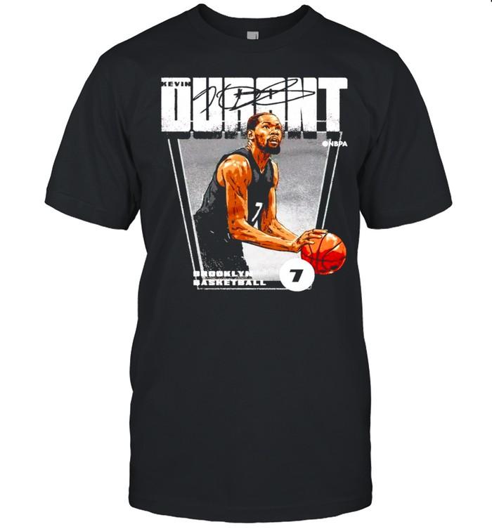 Brooklyn Basketball 7 Kevin Durant signature shirt Classic Men's T-shirt