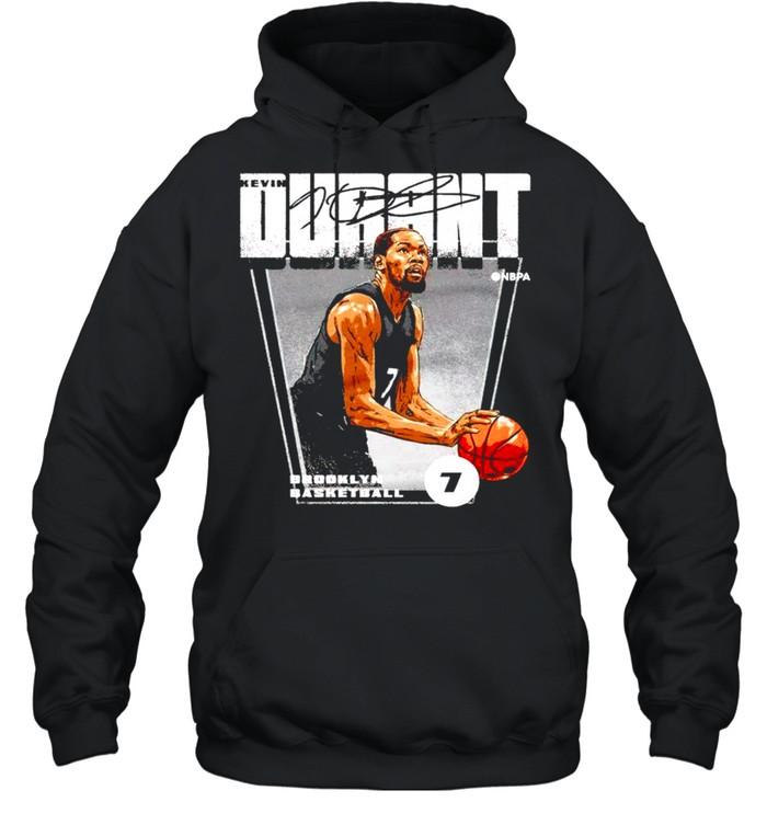 brooklyn basketball 7 kevin durant signature shirt unisex hoodie