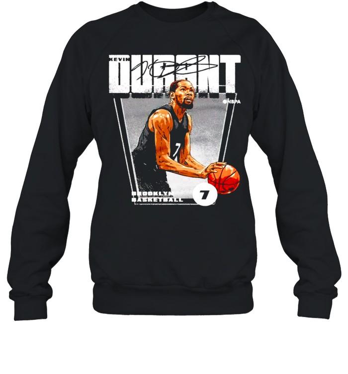 brooklyn basketball 7 kevin durant signature shirt unisex sweatshirt