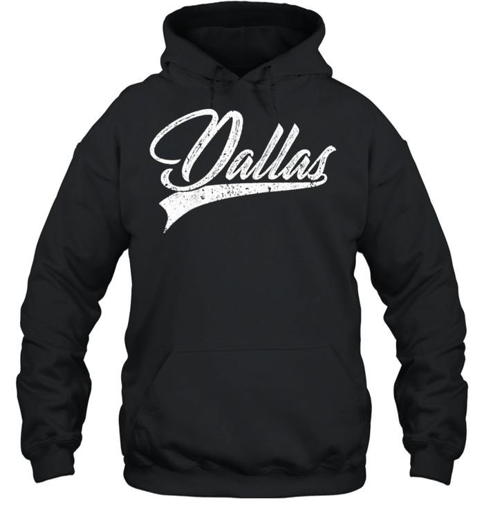 dallas classic vintage texas sports jersey shirt unisex hoodie