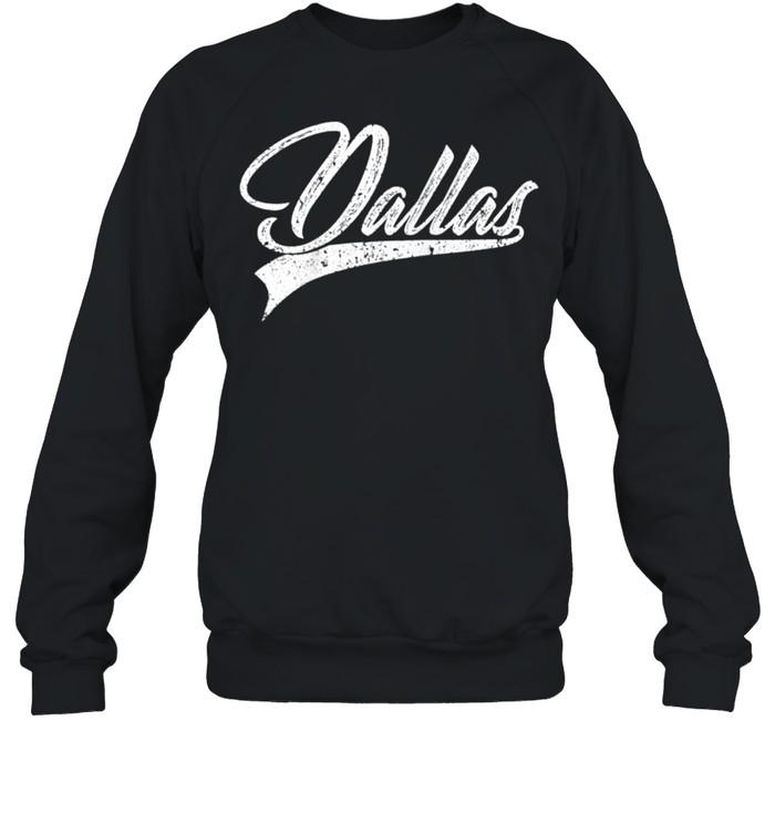 dallas classic vintage texas sports jersey shirt unisex sweatshirt