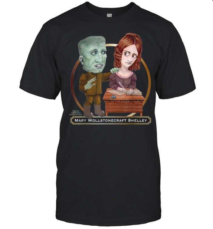 Mary Wollstonecraft Shelley and Frankenstein shirt Classic Men's T-shirt