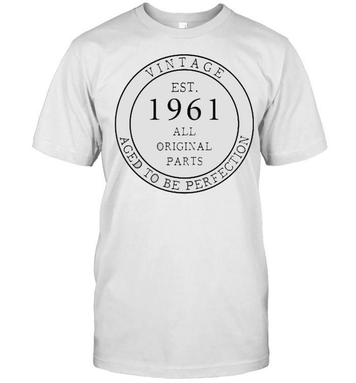 Vintage EST 1961 All Original Parts T- Classic Men's T-shirt
