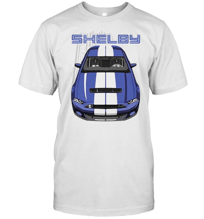 Ford shelby Blue  Classic Men's T-shirt