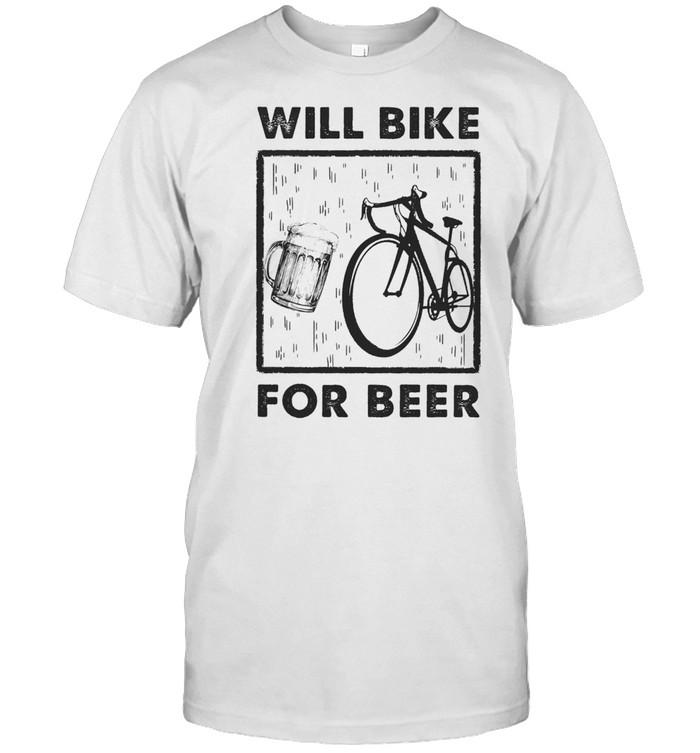 Will Bike For Beer shirt Classic Men's T-shirt