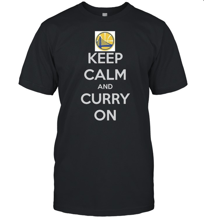 Golden State Warriors Keep Calm And Curry On T-shirt Classic Men's T-shirt