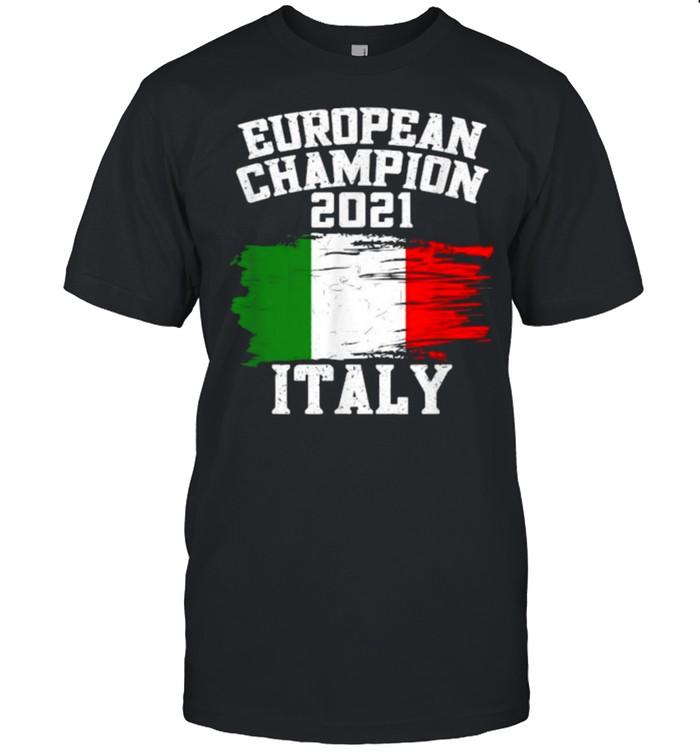 European Champion 2021 Football Italy Flag T- Classic Men's T-shirt
