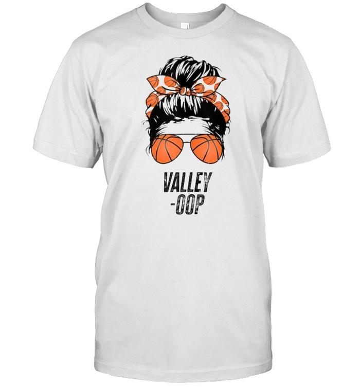 Phoenix Basketball Valley Oop Messy Bun  Classic Men's T-shirt