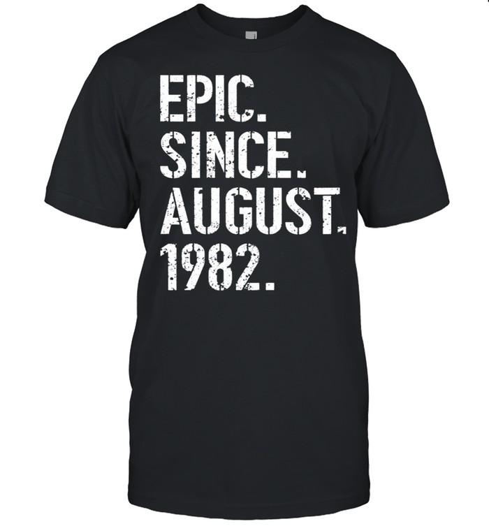 37th Birthday Epic Since August 1982 Classic shirt Classic Men's T-shirt