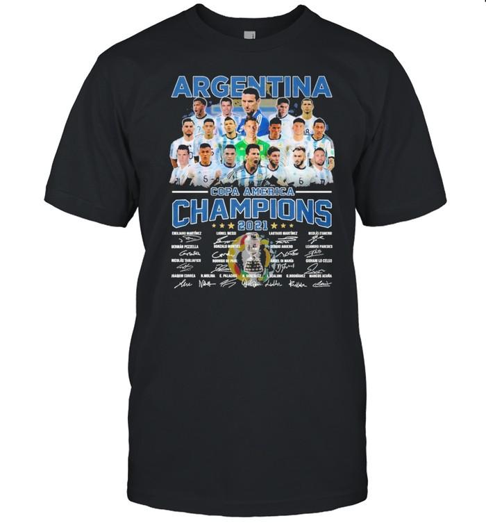 Argentina copa america champions 2021 shirt Classic Men's T-shirt