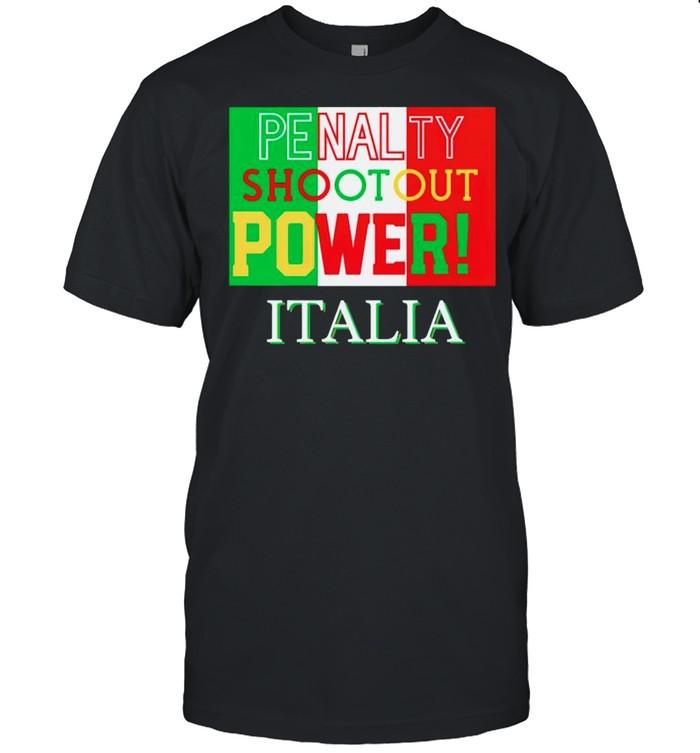 Italia penalty shootout power shirt Classic Men's T-shirt