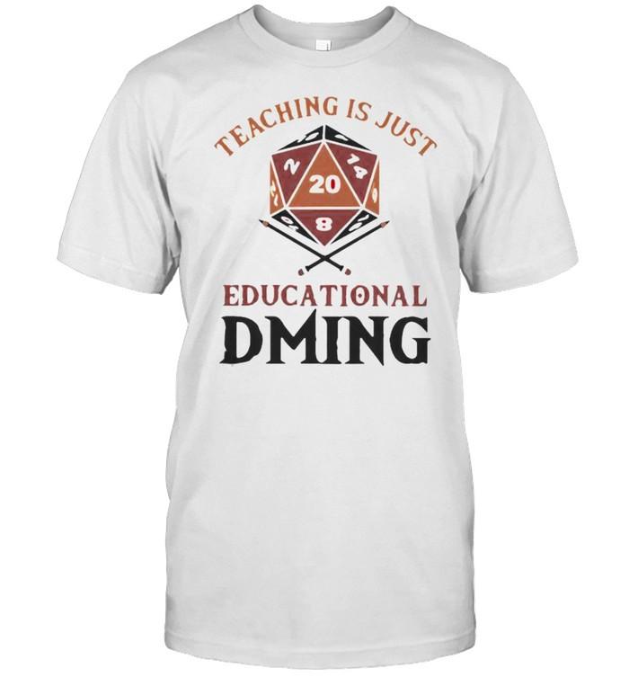 Teaching is just educational dring shirt Classic Men's T-shirt