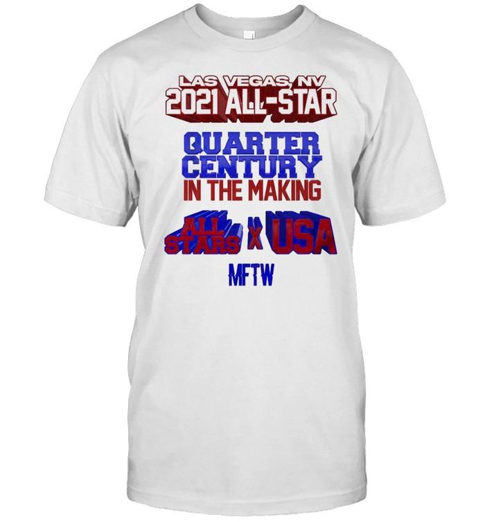 Las Vegas NV 2021 all-star quarter century in the making shirt Classic Men's T-shirt