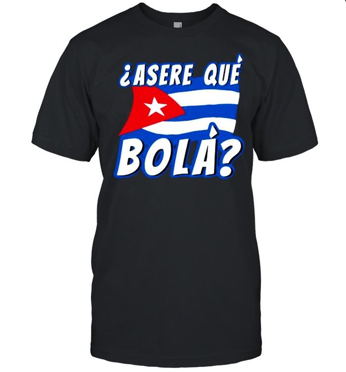 Cuba Flag Asere Que Bola shirt Classic Men's T-shirt