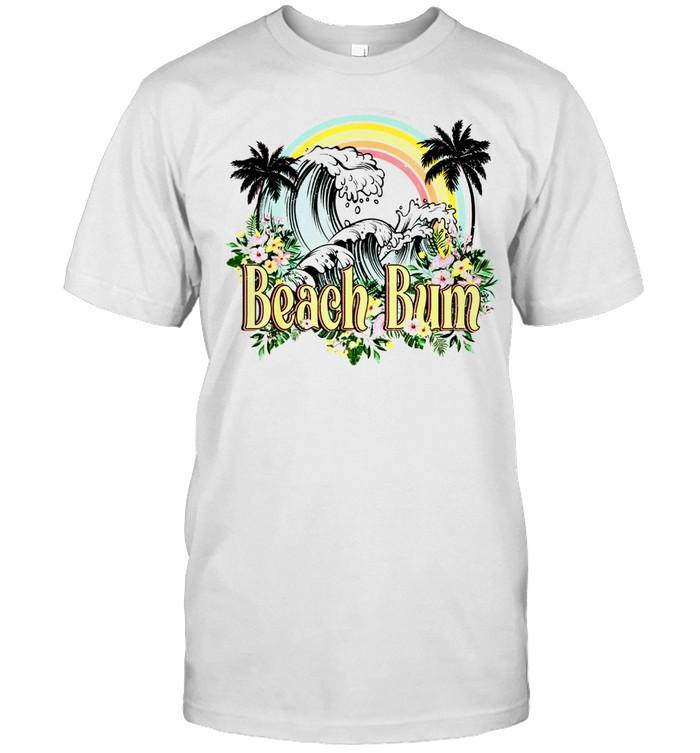 Vintage Retro Beach Bum Tropical Summer Vacation shirt Classic Men's T-shirt
