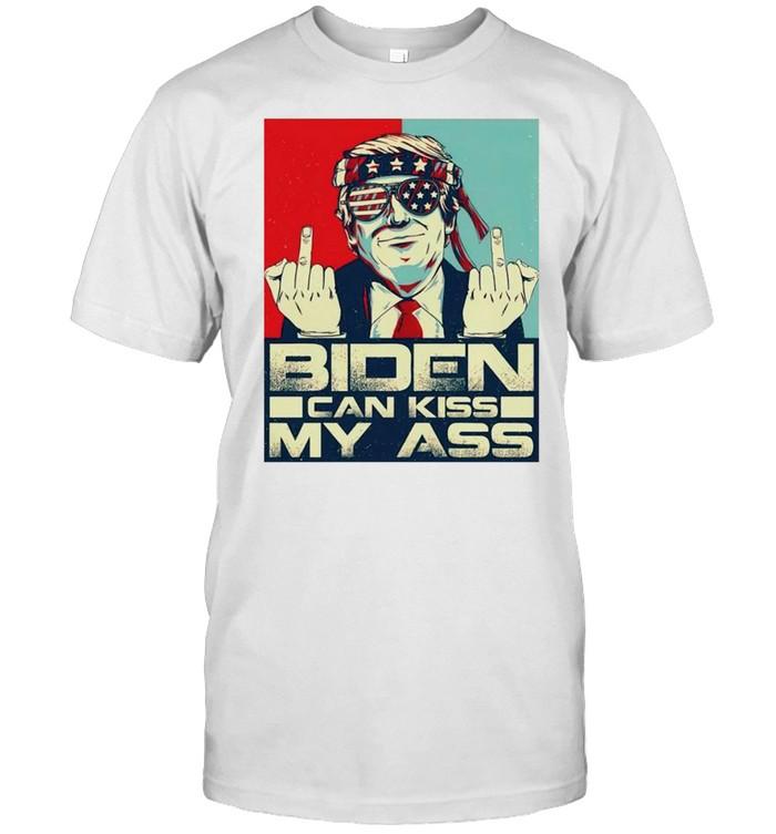Trump fuck Biden can kiss my ass shirt Classic Men's T-shirt