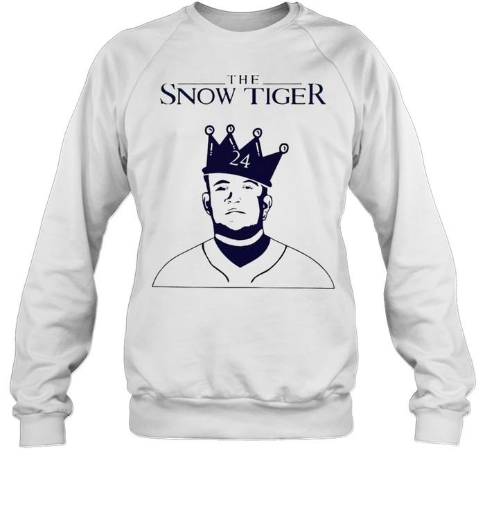 miguel cabrera the snow tiger shirt unisex sweatshirt
