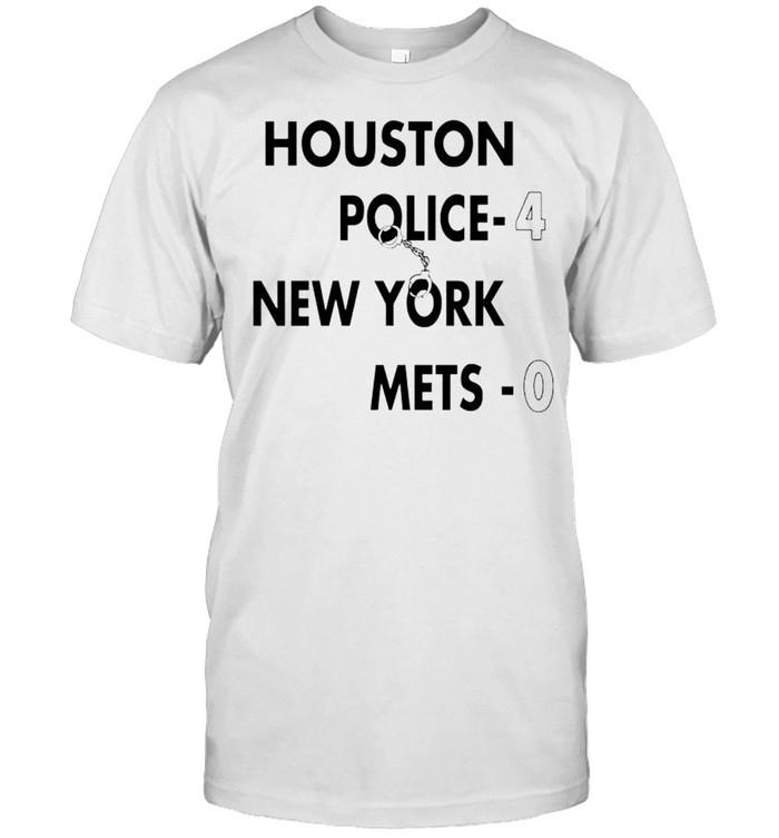 Houston Police 4 New York Mets 0 shirt Classic Men's T-shirt