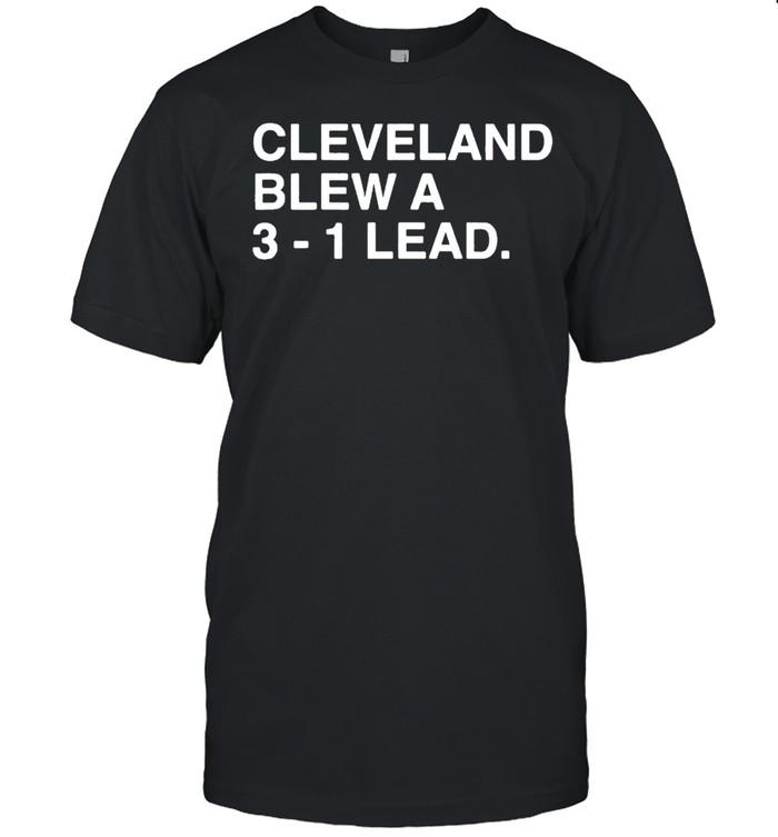 Cleveland Blew a 3-1 lead shirt Classic Men's T-shirt