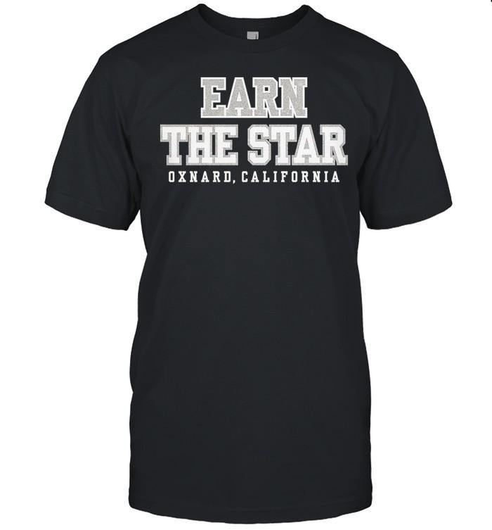 Dallas Cowboys Womens Earn The Star Glitter Tee shirt Classic Men's T-shirt