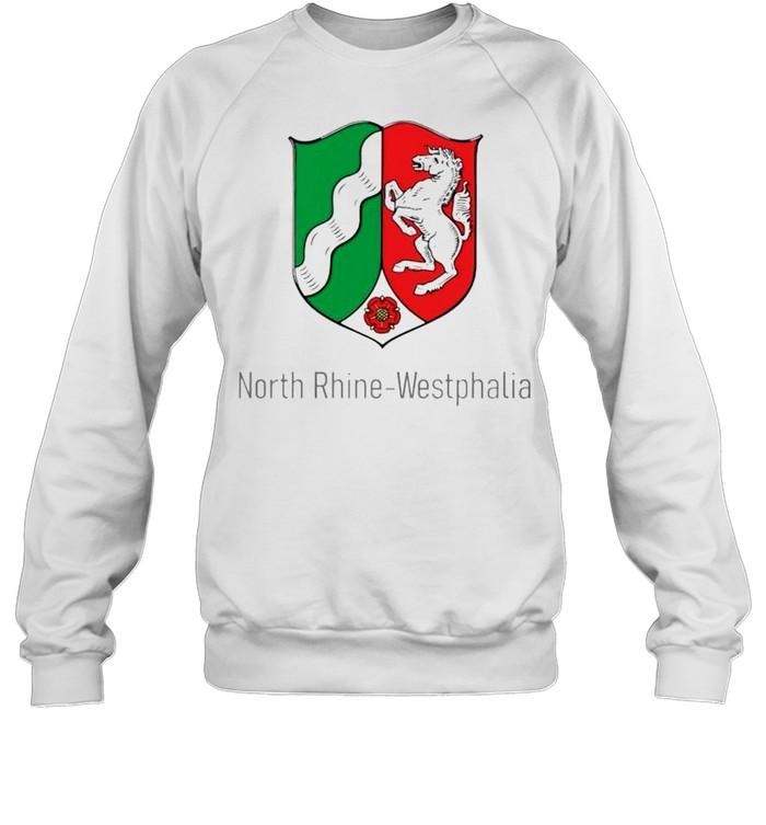 North Rhine Westphalia shirt Unisex Sweatshirt