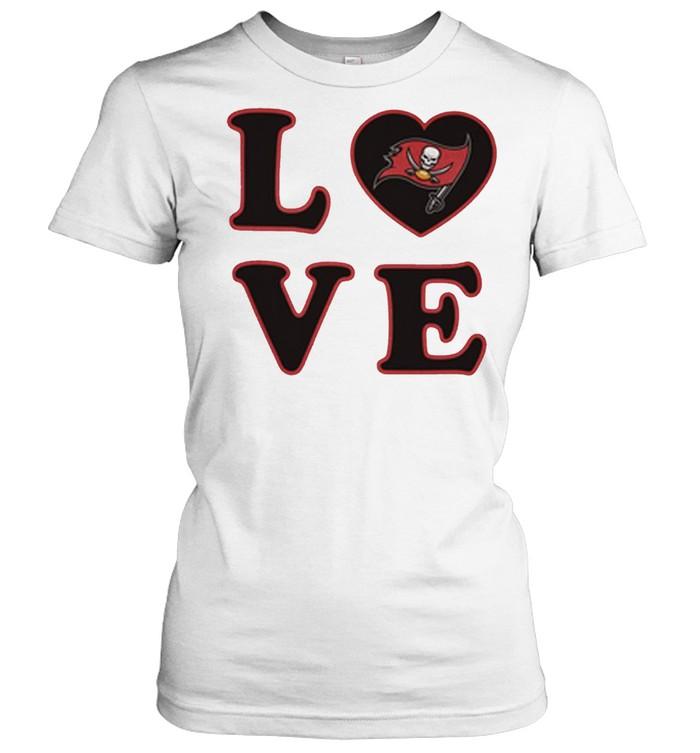 Tampa Bay Buccaneers 47 Love Club shirt Classic Women's T-shirt