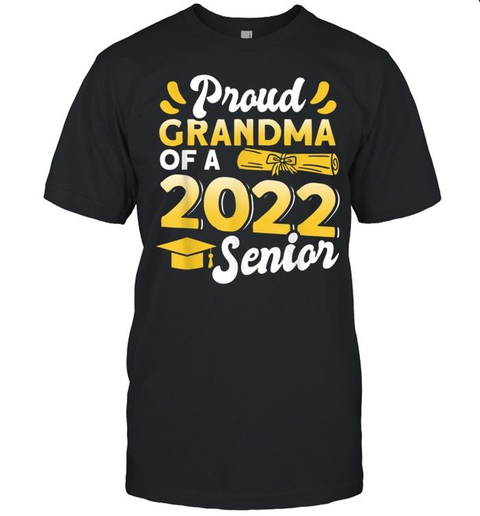 Class Of 2022 Proud Grandma Of A 2022 Senior Graduation shirt Classic Men's T-shirt