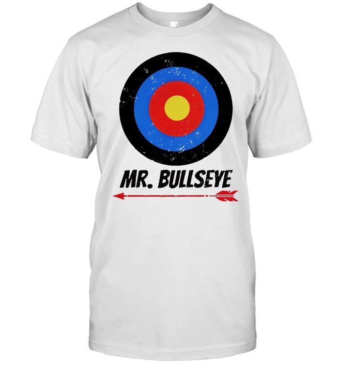 Archery Boys Cool Mr. Bullseye T-shirt Classic Men's T-shirt