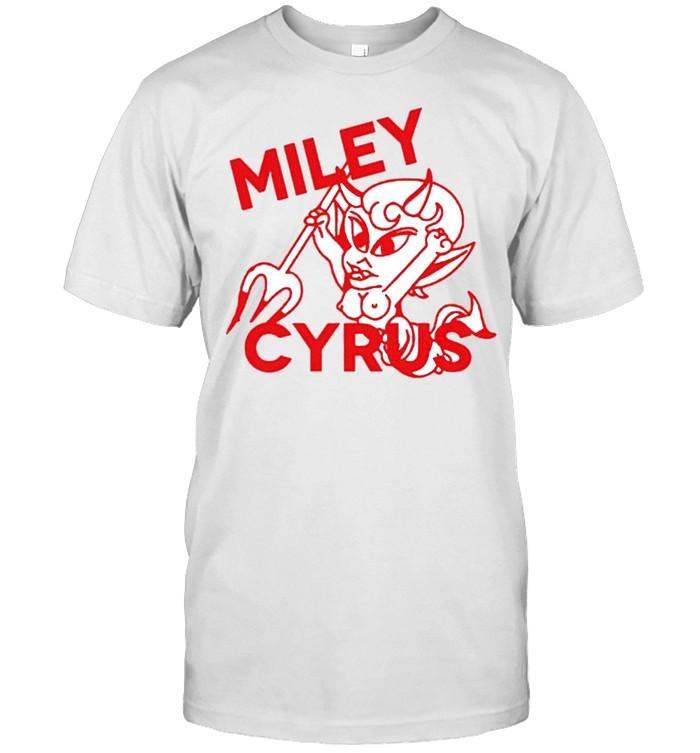 Miley Cyrus Devil gay shirt Classic Men's T-shirt