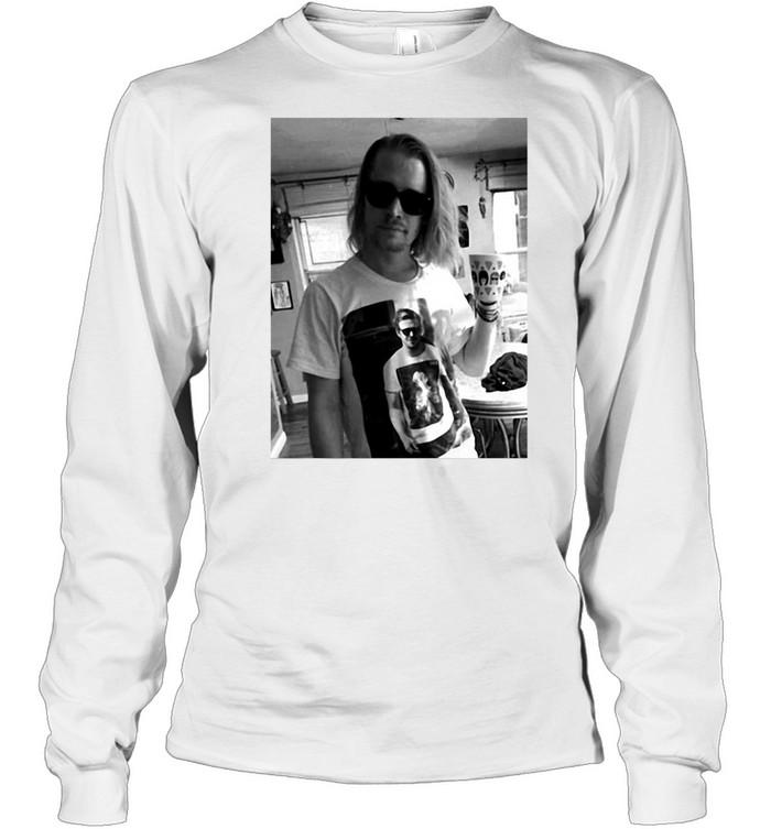 Ryan Gosling Macaulay Culkin Gift T-shirt Long Sleeved T-shirt