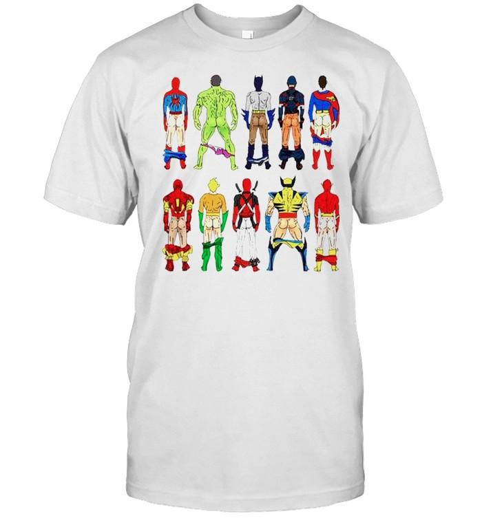 Superhero Butts shirt Classic Men's T-shirt