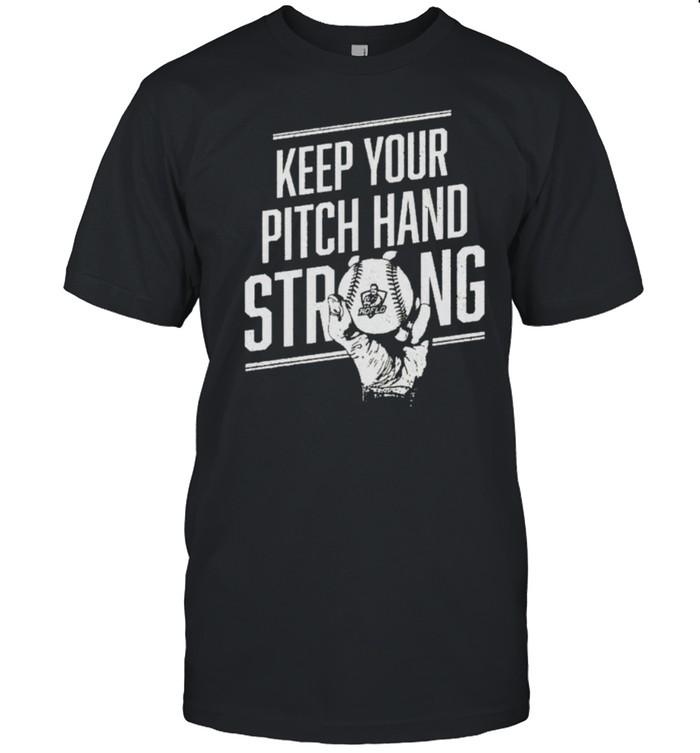 Roflo keep your pitch hand strong shirt Classic Men's T-shirt