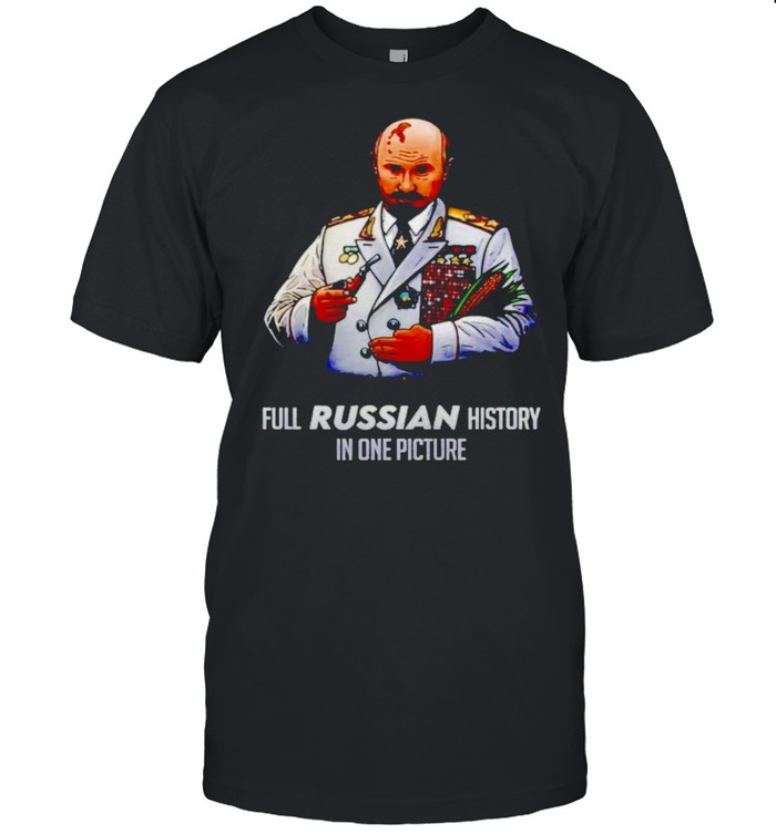 Full russian history in one picture shirt Classic Men's T-shirt