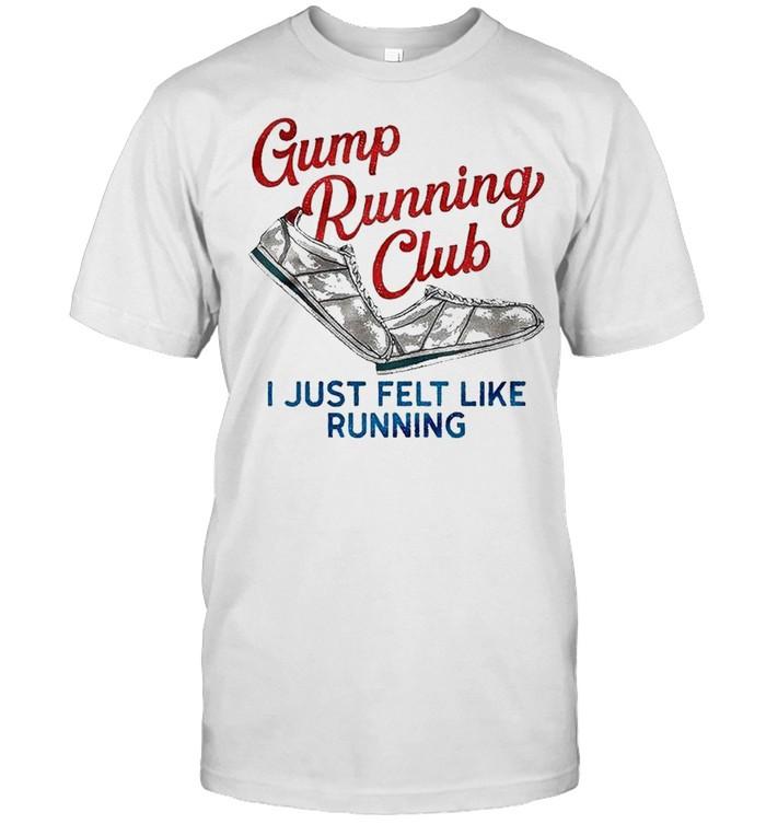Gump running club I just felt like running shirt Classic Men's T-shirt