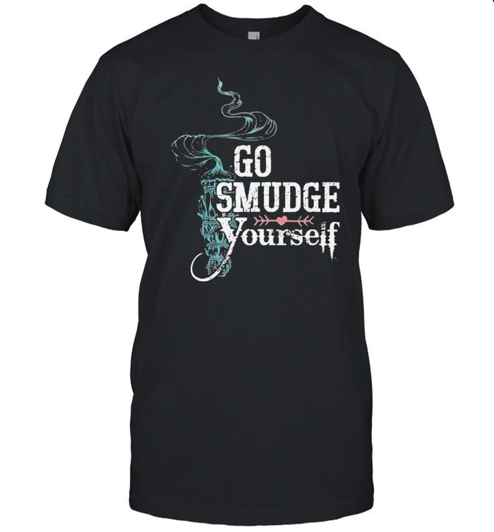 Go smudge yourself premium shirt Classic Men's T-shirt