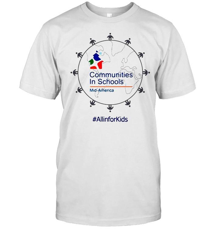 Communities In Schools Of Mid America Uncommon Threads Store 25Th Anniversary T-shirt Classic Men's T-shirt