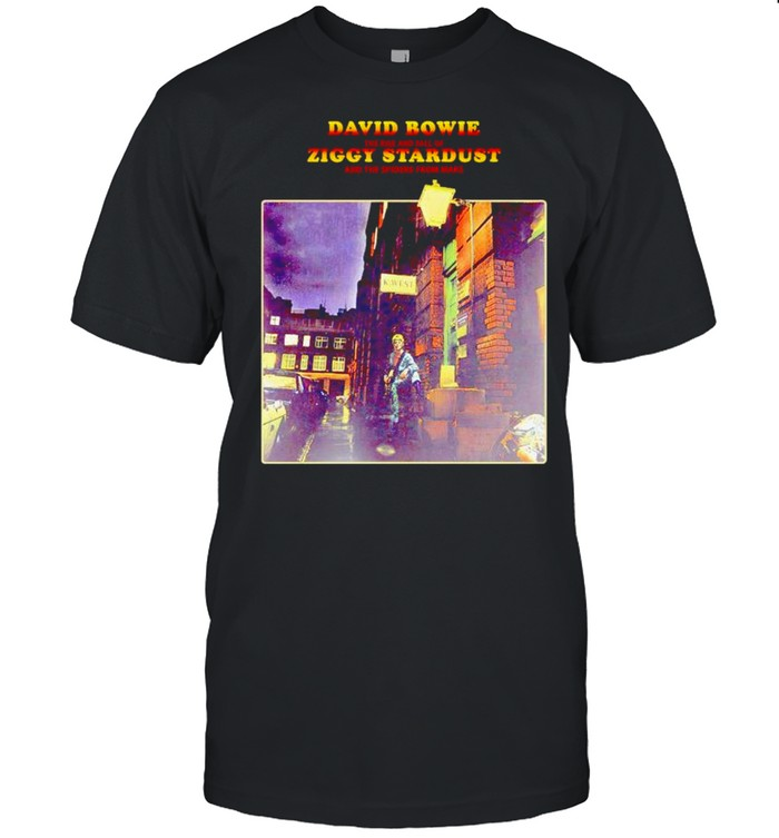 David Bowie the rise and fall of Ziggy Stardust shirt Classic Men's T-shirt