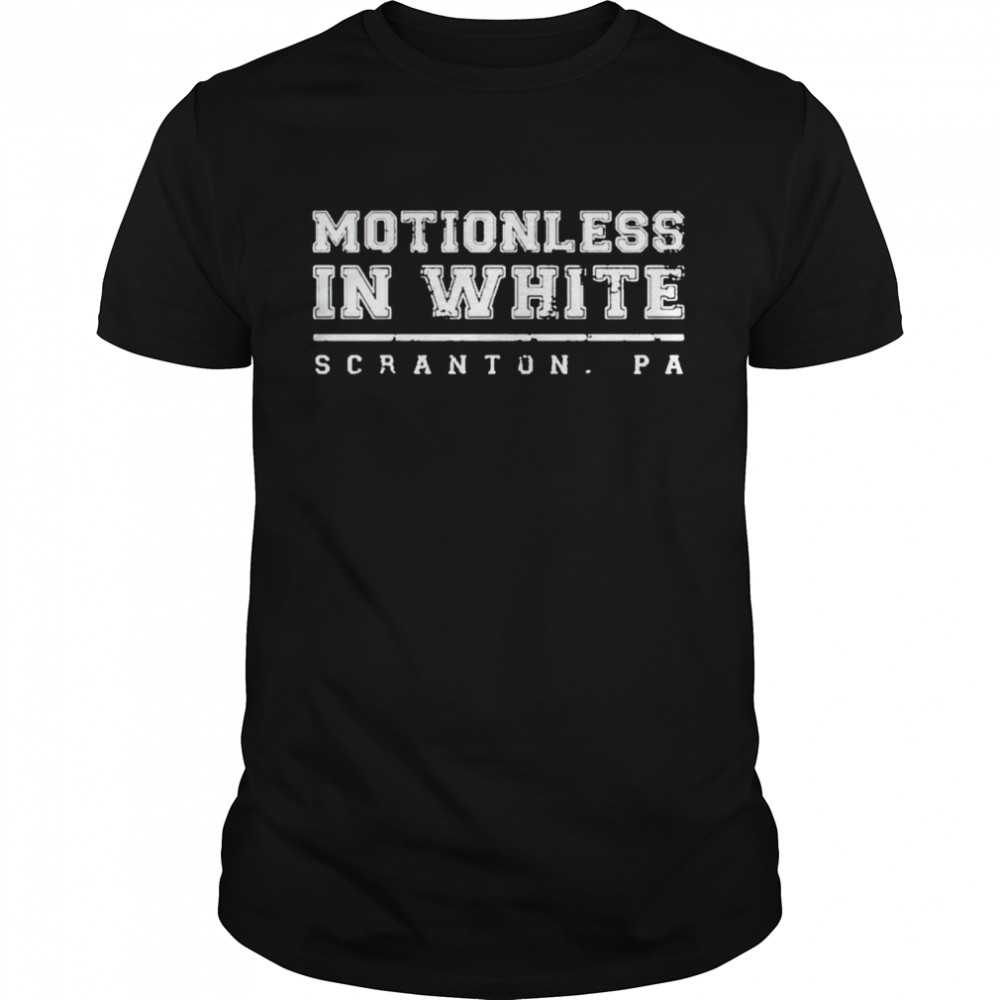 Motionless in white scranton shirt Classic Men's T-shirt