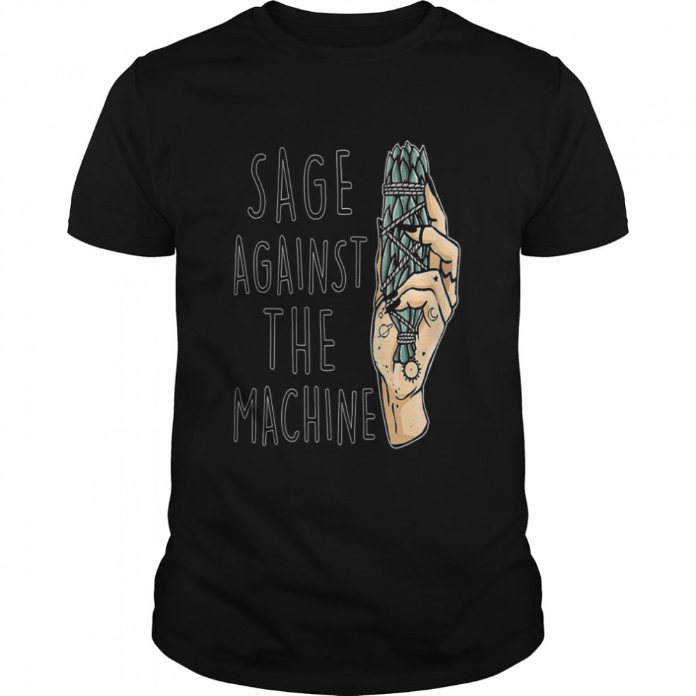 Sage against the machine shirt Classic Men's T-shirt