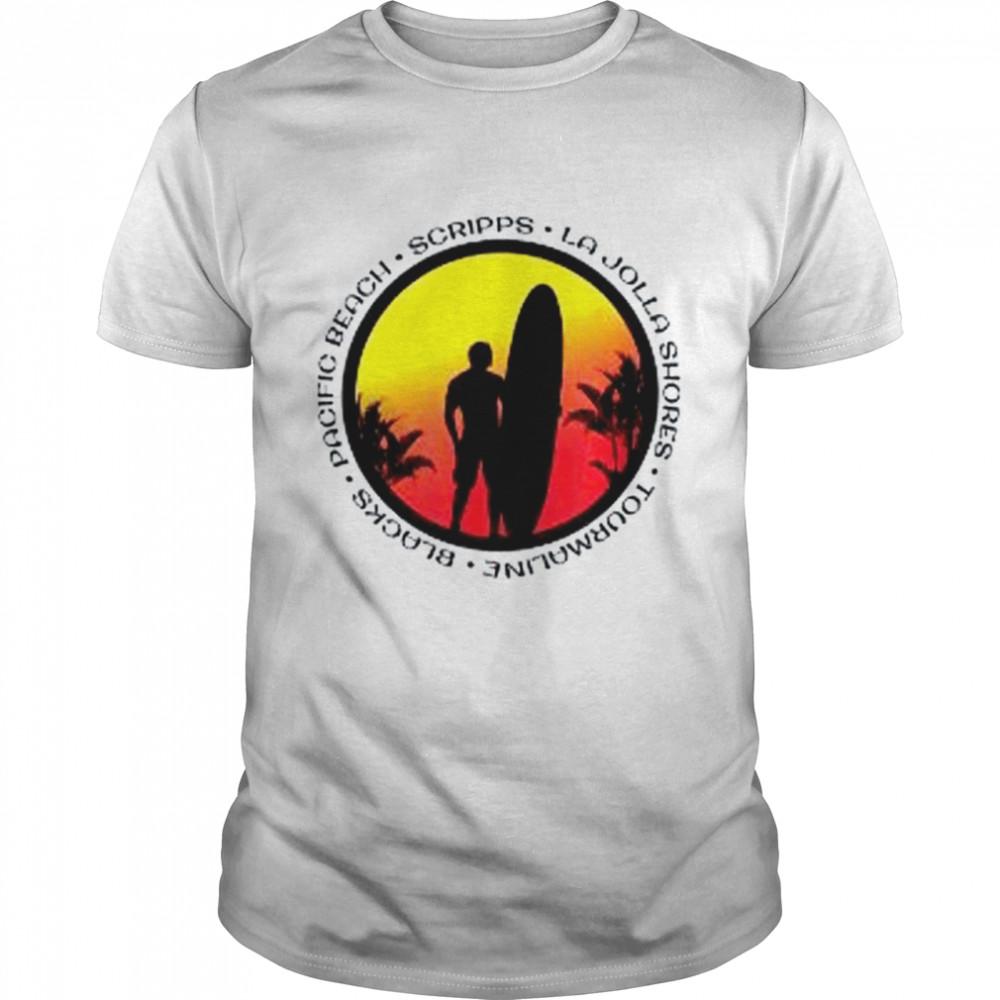 San Diego Surfing Fan shirt Classic Men's T-shirt