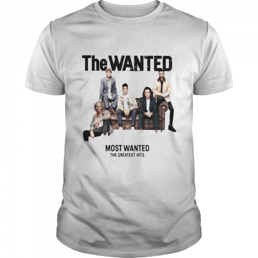 The Wanted Most Wanted The Greatest Hits T-shirt Classic Men's T-shirt