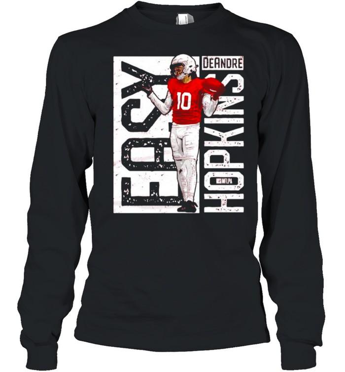 Arizona DeAndre Hopkins easy shirt Long Sleeved T-shirt