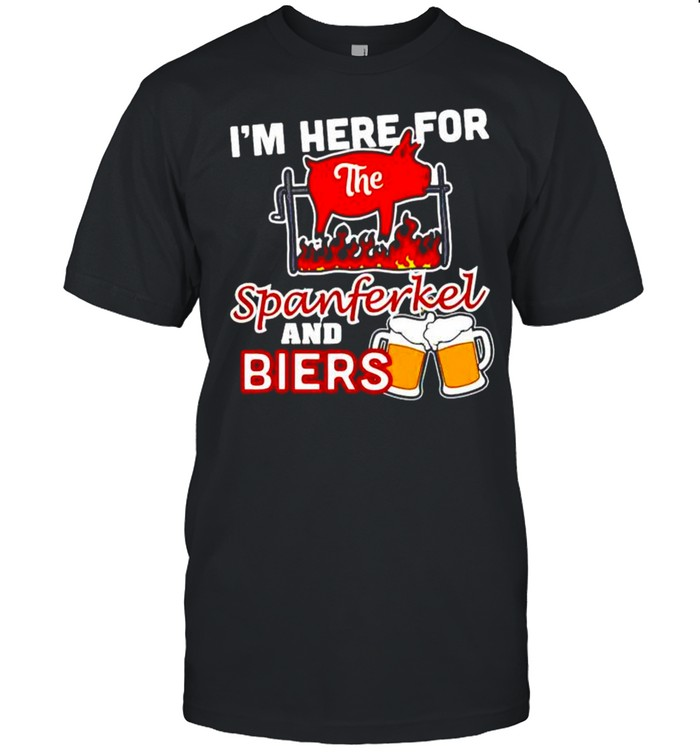I'm here for the spanferkel and biers shirt Classic Men's T-shirt