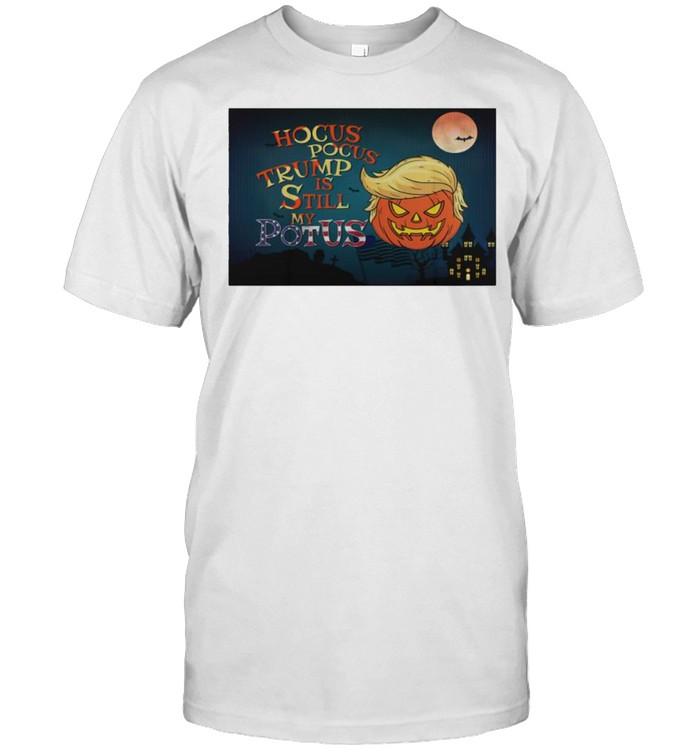 Hocus Pocus Trump is still my potus shirt Classic Men's T-shirt